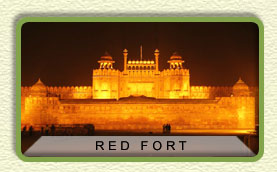 red fort monument delhi